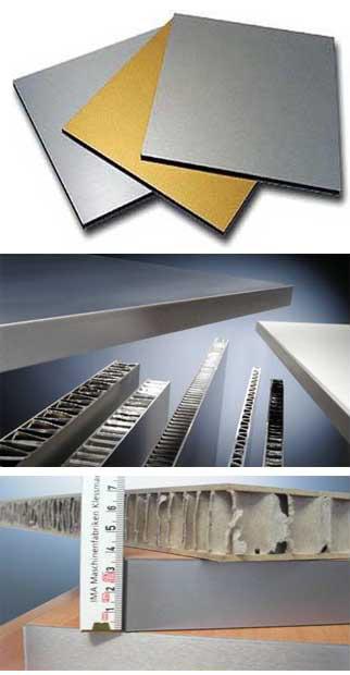 Алюминиевые сэндвич панели